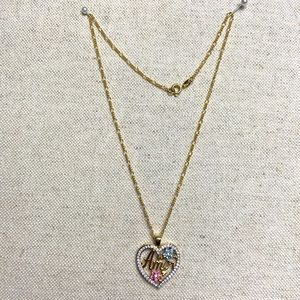 Gold Plated Chain And Pendant